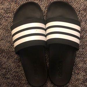 Adidas slides size 10.